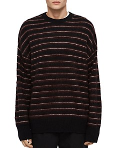 ALLSAINTS - Bretley Striped Crewneck Sweater