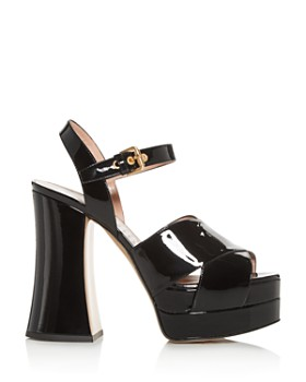 Moschino - Women's High-Heel Platform Sandals