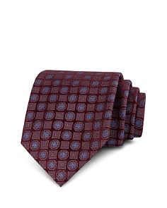 The Men's Store at Bloomingdale's - Medallion Silk Classic Tie - 100% Exclusive