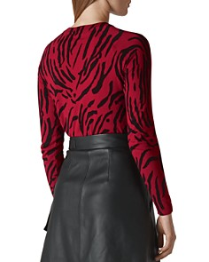 Whistles - Tiger-Print Sweater