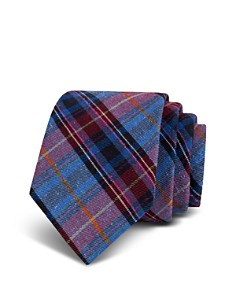 Ted Baker - Plaid Bourette Silk Classic Tie