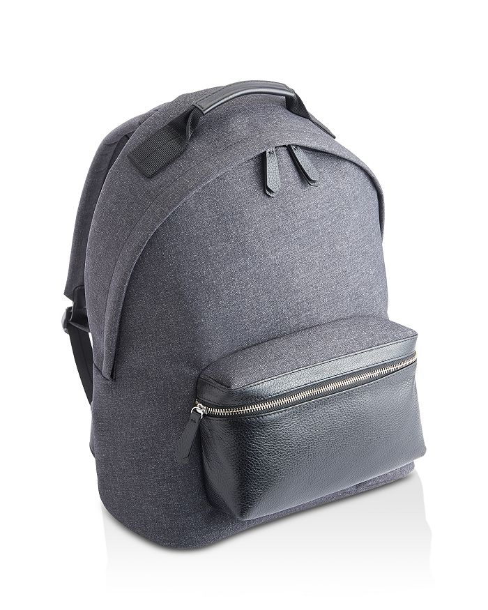 ROYCE New York - Flannel & Leather Backpack