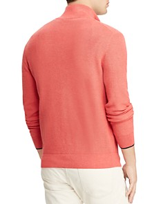 Polo Ralph Lauren - Mesh Half-Zip Sweater