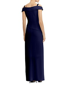 Ralph Lauren - Cold-Shoulder Gown