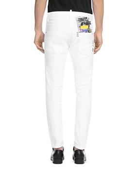 DSQUARED2 - Skater Slim Fit Jeans in White
