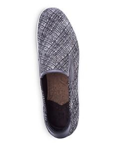Robert Graham - Men's Kitson Leather Slip-On Sneakers