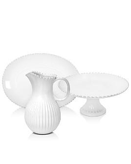 Costa Nova - White Pearl Serveware