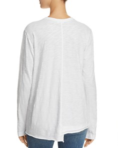 Wilt - Asymmetric Shifted-Hem Tee