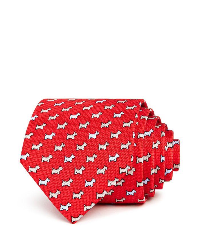 The Men's Store at Bloomingdale's - Scottie-Print Silk Classic Tie - 100% Exclusive