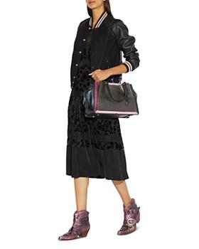 ee6fbfd04b3 ... COACH - Dreamer 36 Metallic Leather Color-Block Shoulder Bag