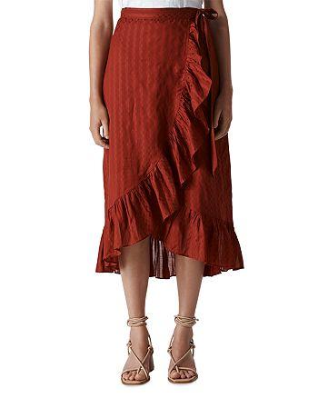 Whistles - Ruffled Wrap Skirt