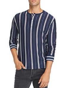 A.P.C. - Merioul Long-Sleeve Striped Jersey Henley