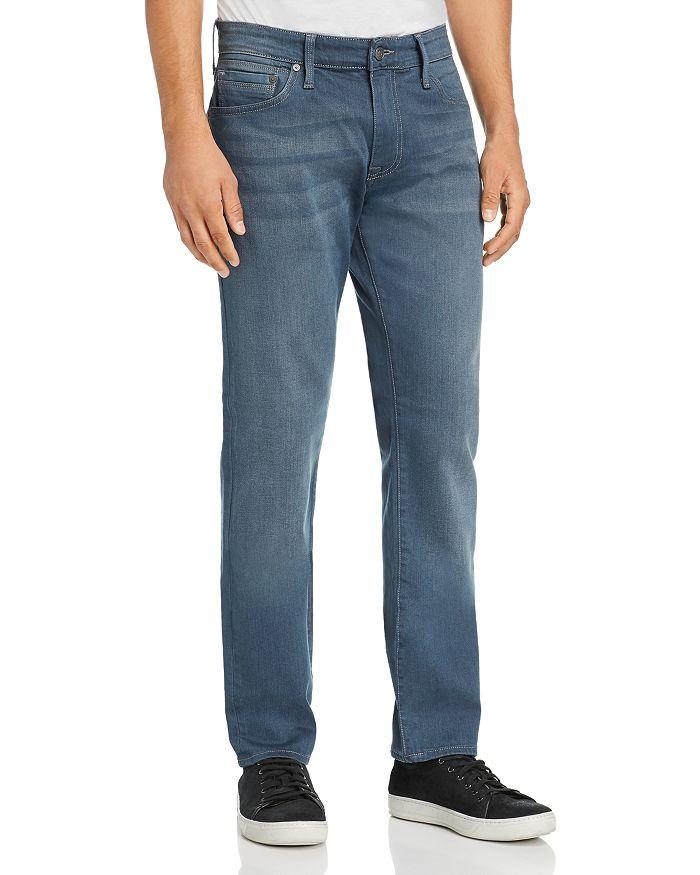Mavi - Marcus Straight Slim Fit Jeans in Dark Blue/Gray
