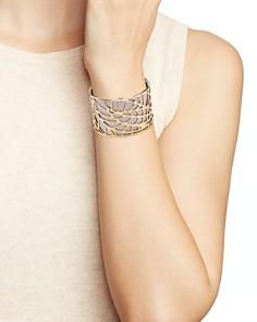 Les Georgettes - Fougere Large Cuff Bracelet
