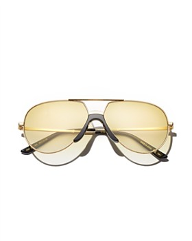 9090b0ef2c0 Gucci - Men s Brow Bar Flat Top Aviator Sunglasses