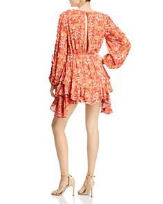 Hemant and Nandita - Dawn Floral-Print Mini Dress