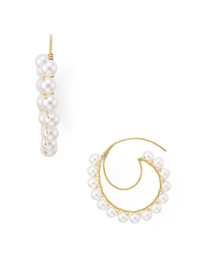 Beck Jewels - Lune Crescent Threader Earrings