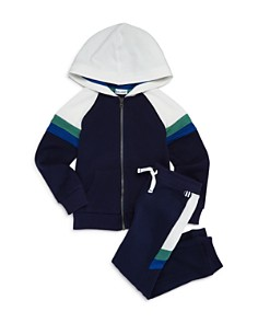 Splendid - Boys' Racing-Stripe Hoodie & Jogger Pants - Little Kid