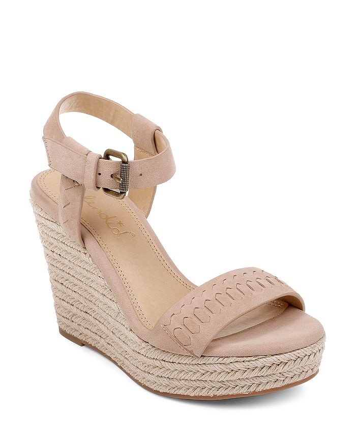 Splendid - Women's Shayla Suede Espadrille Wedge Heel Sandals