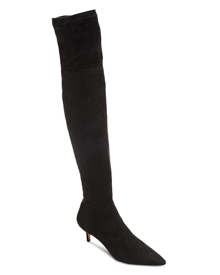 cac02df9ac00 SCHUTZ - Women s Helga Kitten Heel Over-the-Knee Boots