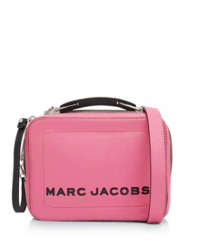 6fa4d6b9f MARC JACOBS - The Box Small Leather Crossbody ...