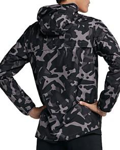 Nike - Essential Camouflage-Print Hooded Zip-Front Jacket