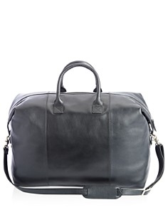 ROYCE New York - Leather Weekender Duffel Bag