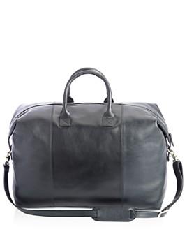 ROYCE New York - Leather Weekender Duffel Bag