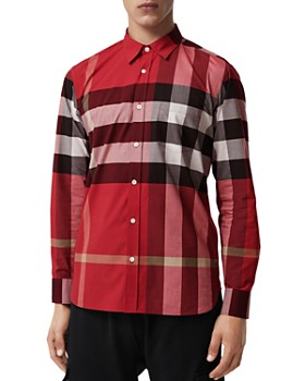 Burberry - Windsor Check-Pattern Classic Fit Shirt