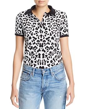 Ksenia Schnaider - Knit Leopard Top