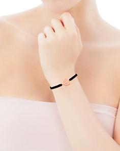 TOUS - Super Power Cultured Freshwater Pearl Heart Cord Bracelet