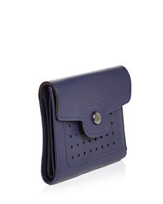 Longchamp - Mademoiselle Mini Trifold Leather Wallet