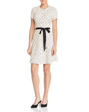 Rebecca Taylor - Plaid Tweed Dress