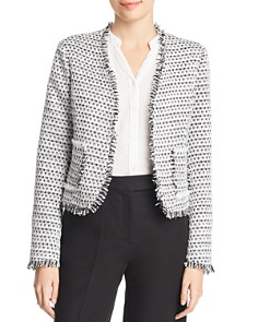 Bagatelle - Metallic-Tweed Jacket