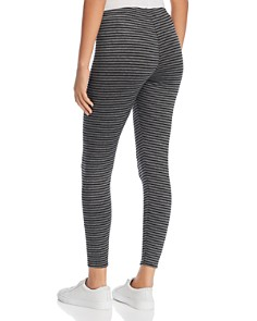 Eileen Fisher Petites - Heathered Stripe Ankle Leggings