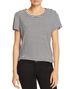 Frame Classic Striped Linen Tee