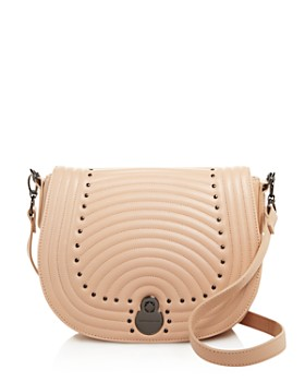 18550d6aed19 Longchamp - Cavalcade Quilted Studded Leather Crossbody ...