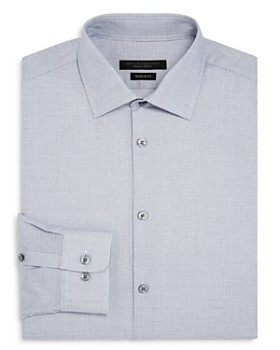 John Varvatos Star USA - Micro-Checked Regular Fit Dress Shirt