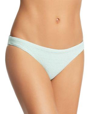 PilyQ Azura Smocked Bikini Bottom