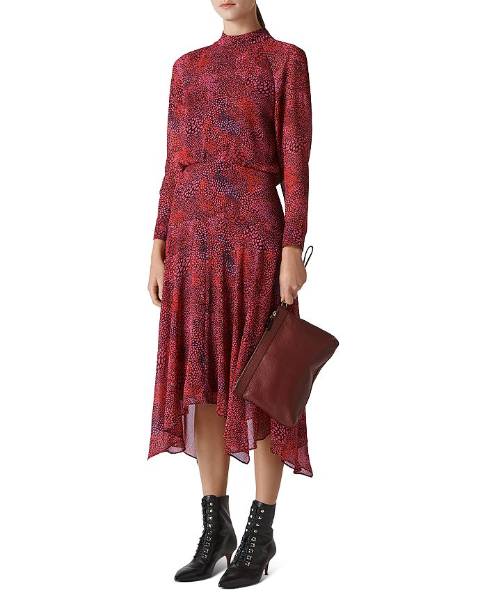 Whistles - Carlotta Abstract Animal Printed Dress