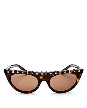 Valentino Women's Rockstud Cat Eye Sunglasses, 52mm