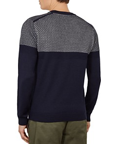 Ted Baker - Yeting Stitched Crewneck Sweater