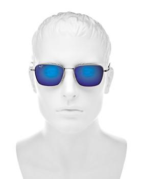Maui Jim - Women's Spinnaker Polarized Mirrored Square Sunglasses, 54mm