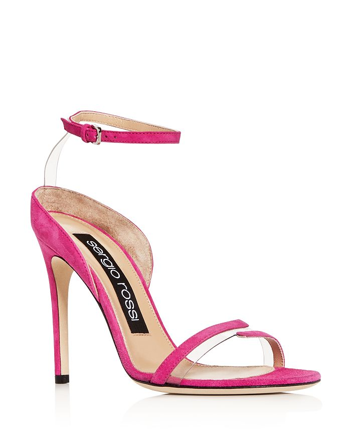 Sergio Rossi - Women's Ankle Strap High-Heel Sandals
