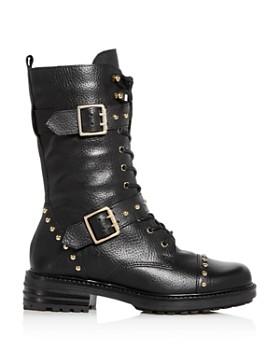Kurt Geiger - Women's Sting Cap-Toe Moto Boots