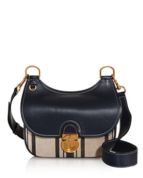 Tory Burch - James Small Awning Stripe Crossbody - 100% Exclusive