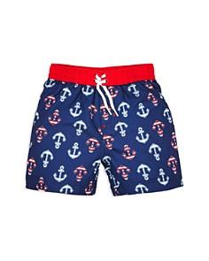 Little Me - Boys' Anchor Swim Trunks - Baby