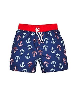 Little Me Boys' Anchor Swim Trunks - Baby
