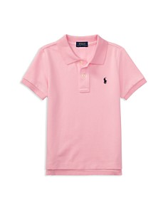 Ralph Lauren - Boys' Solid Mesh Polo Shirt - Little Kid