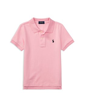 Ralph Lauren - Boys' Solid Mesh Polo Shirt - Little Kid, Big Kid